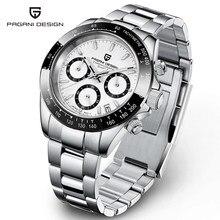 PAGANI – montre de sport à Quartz pour hommes, nouveau Design, marque de luxe, saphir, acier inoxydable, chronographe étanche, 2021