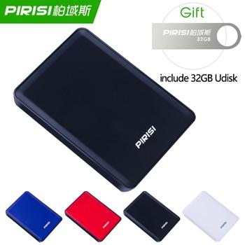 цена на Original 2.5'' 2TB External Hard Drive USB3.0 1TB HDD Portable External HD Hard Disk Disco duro externo 500GB 320GB 250GB 160GB
