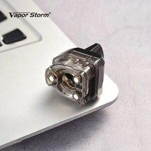 Image 5 - Original Vapor Storm V PM 40 vape Kit 4.8ml pod Cartridge mesh coil with 0.96inch TFT screen E Cigarette vape pen Kit VS VINCI X