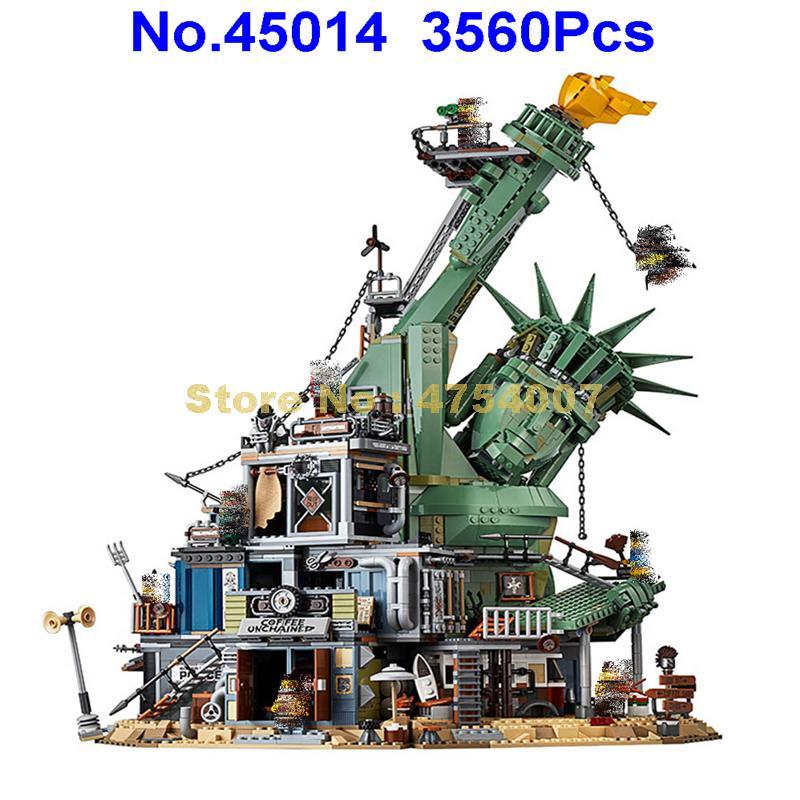 Welcome to Apocalypseburg Set legoings The Movie 70840 Building Blocks 3560pcs