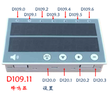 PLC All in one Text Display Domestic Compatible Mitsubishi OP320 Industrial Control Board 10MT Programmable Controller