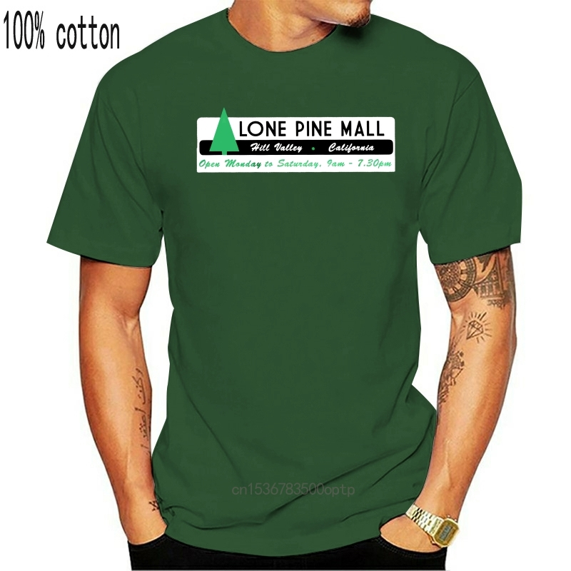 Футболка с надписью «Twin Pines», футболка с принтом «Назад в будущее» для мужчин/мальчиков, классные футболки с коротким рукавом
