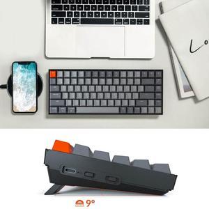 Image 5 - Keychron K2 A V2 Bluetooth Mechanical Keyboard w/ Gateron Red Switch/White LED Backlit 84 Key Wireless Keyboard for Mac Windows