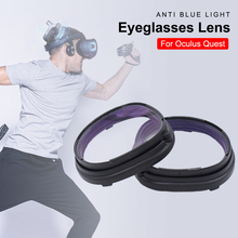 For Oculus Quest Blue Light Blocking Lens Replaceable Eyeglasses Accessories With Frame Protection For Oculus Quest VR Headset