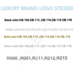 Nail Art Decorations Black Stickers Manicure Brand Nail Sticker Self-adhesive DIY Decals Tips Rose Gold Nail Art Stickers Decals(China)