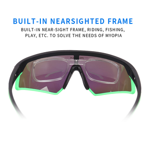 Image 4 - PHMAX Outdoor Sports Road Bicycle Glasses Ultralight Polarized Cycling Sun Glasses Men&Women MTB Bike Sunglasses Goggles Eyewear