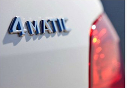 For Mercedes Rear Emblem Decal Badge 4 Matic Sticker A 220 817 08 15 AAA Quality Auto car 4Matic