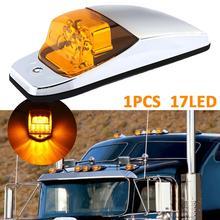 Hot sale! 12-LED Car Cab Roof Marker Lights For Truck SUV LED DC 12V Black Smoked Lens Lamp External Fast shipping