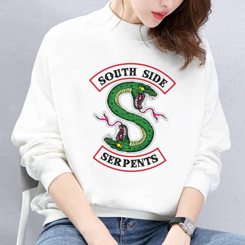 Riverdale South Side Snake Sweatshirt South Side Printed Women's Sportswear Clothing Winter Autumn Women Hoodie Tops