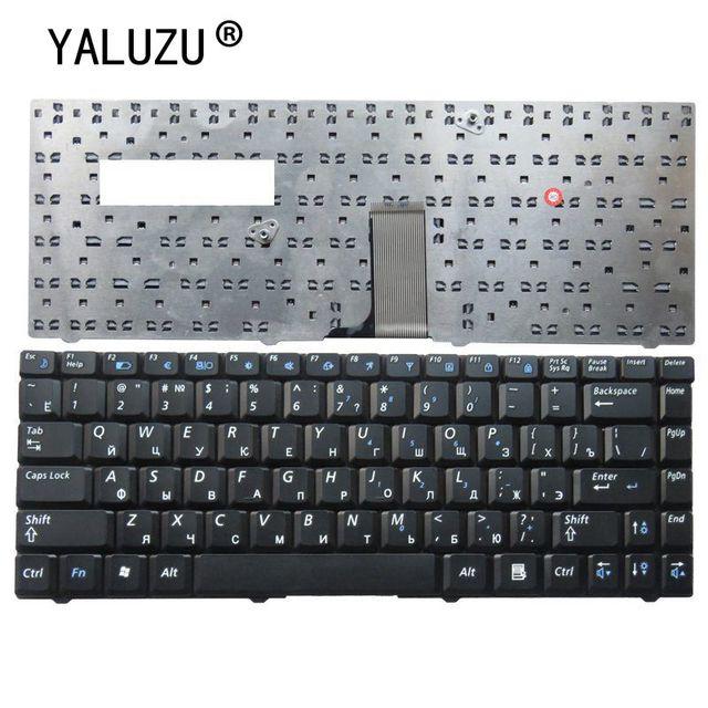 YALUZU RU For Samsung R519 NP R519 Laptop Keyboard Russian New Black