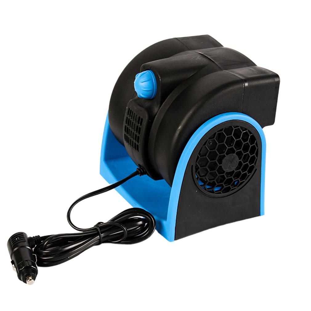 Aire acondicionado para coche, 12V, ventilador de refrigeración para vehículo, camión, barco, coche, velocidad ajustable, silencioso, enfriador, encendedor de cigarrillos para coche