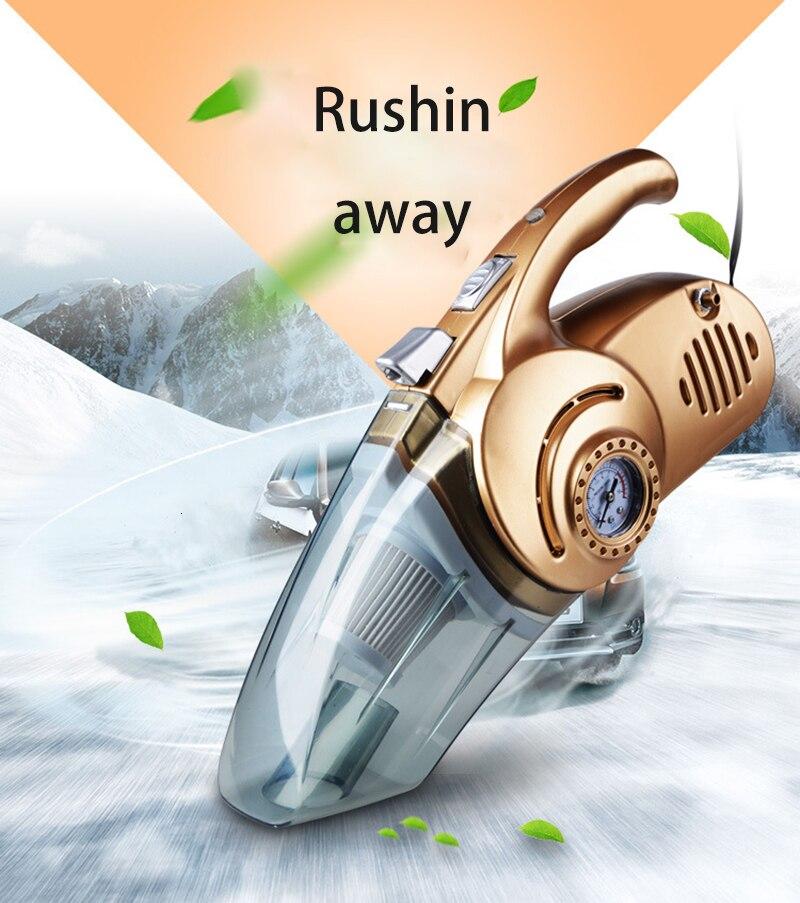 Aspirateur de Voiture 120W Portable Aspirateur à main humide et sec double usage Aspirateur de Voiture Aspirateur Voiture 12V
