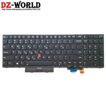 New/orig Greece Backlit Keyboard for Lenovo Thinkpad T570 P51S T580 P52S Laptop Greek Backlight Teclado 01ER595 01ER554