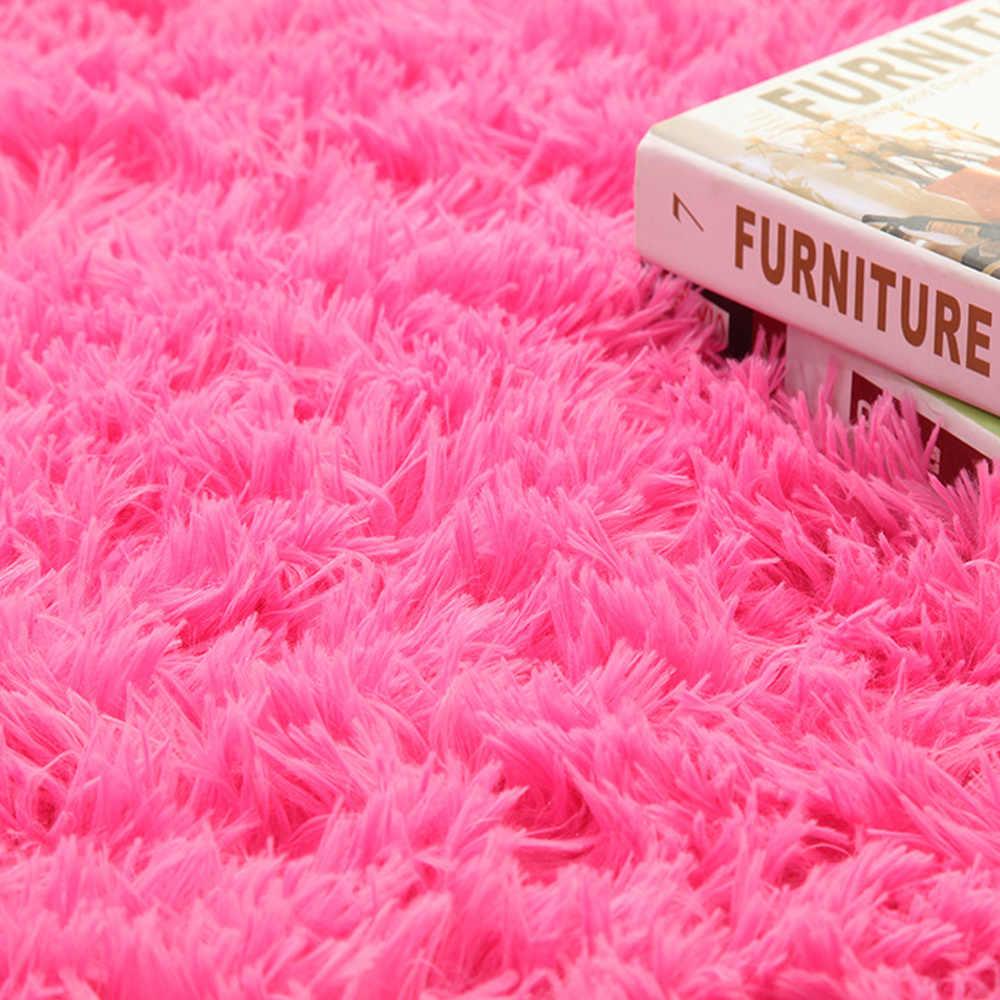 Thảm Trải Thảm Lông Chống Trượt Thảm Phòng Ăn Thảm Lót Sàn Nhà Phòng Ngủ 80x120cm