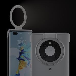 Image 2 - Custodia originale Huawei Ring Light per alimentatore Wireless Mate 40 Pro Design sottile 54 LED luminosi disposti con precisione regolabile