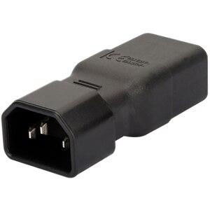 Image 3 - PDU PSU APC UPS IEC C14 Male to C19 Adapter PLUG Computer Room Server Power Conversion Receptacle Adapter Convert Socket Plug