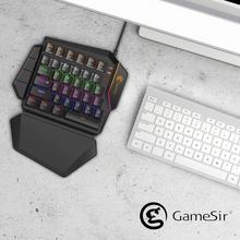 Keyboard Mechanical Fps-Games Gaming Mini GK100 for X1 Keypad One-Handed
