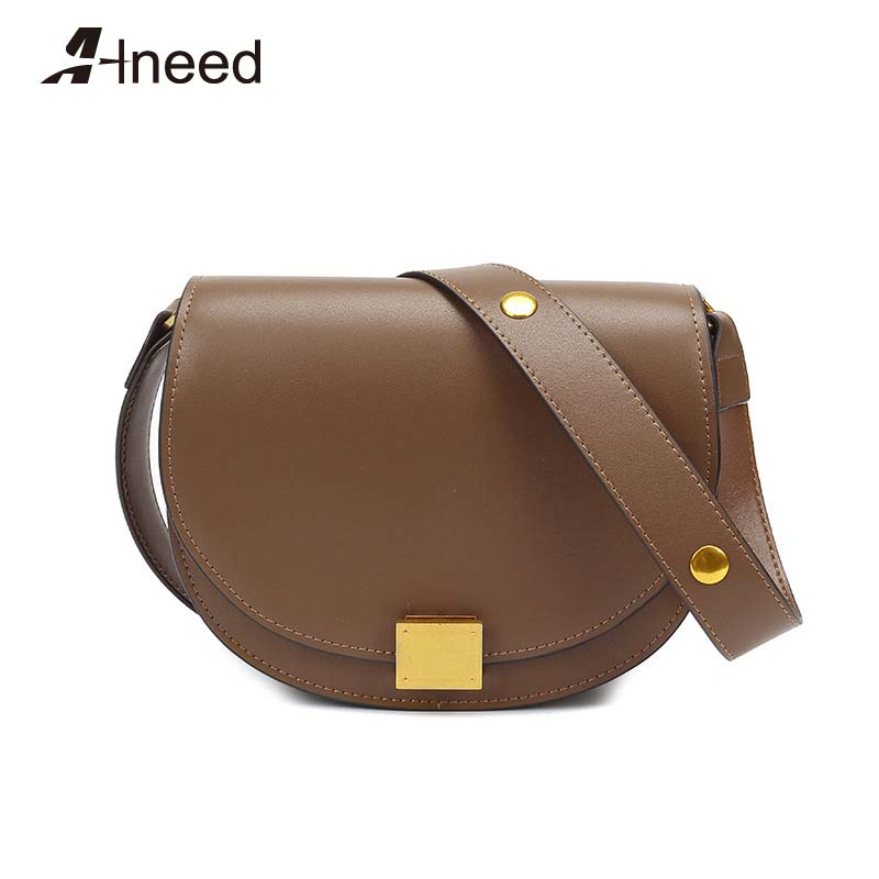 SADDLER Womens Leather Cross Body Purse Clutch Detachable Strap Ladies Sling Bag