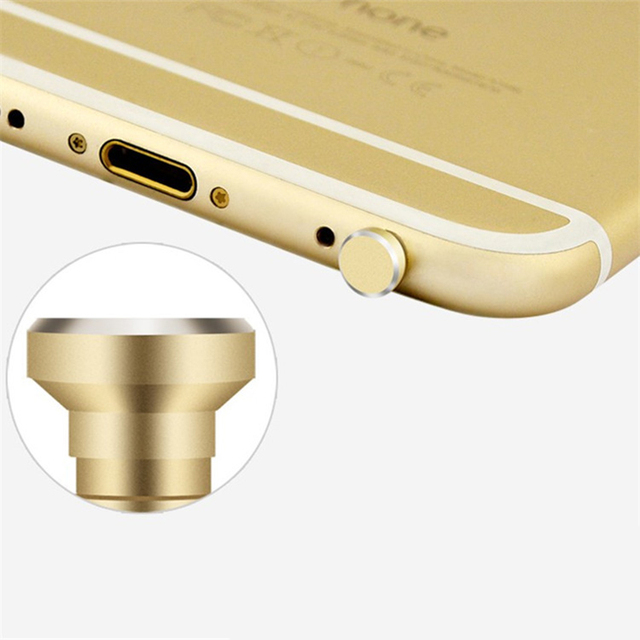 Aluminium Alloy Phone 3.5mm Earphone Jack Dust Plug 2in1 Sim Card Tray Eject Pin Tool Dustproof Cap Gadget For iPhone 6 6s 5s 5 4