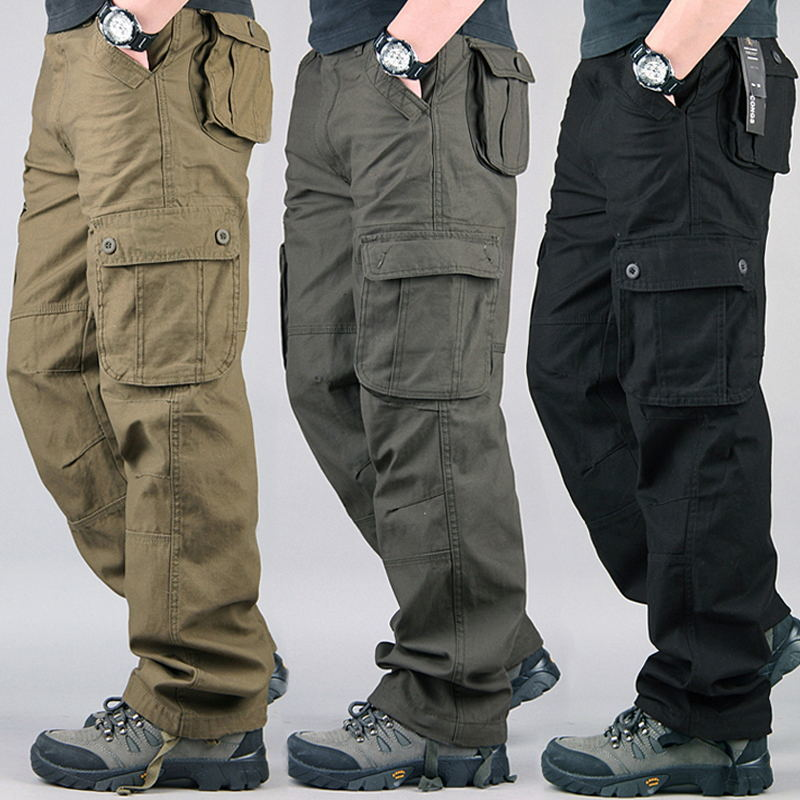 Men's Cargo Pants Lightweight Breathable Quick Dry 2019 Summer Male Casual Army Military Trousers Tactical Waterproof Plus Size