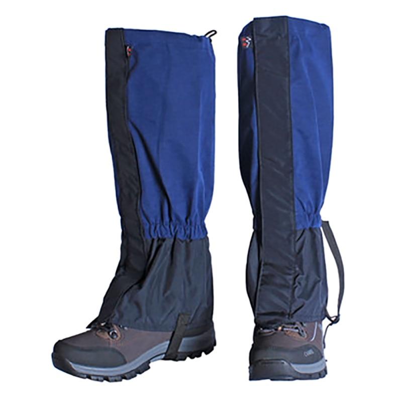 Unisex Waterproof Ski Legging Gaiter Leg Cover Camping Hiking Ski Boot Travel Shoe Snow Hunting Climbing Gaiters Windproof