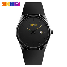 2019 SKMEI Relogio Masculino 1509 30M Waterproof Male Wristwatches Simple Men Quartz Watch PU Strap Men's Watch Sport Watches skmei sport quartz watches men causal fashion watch leather strap waterproof date wristwatches male relogio masculino wristwatch