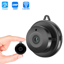 Yoosee אפליקציה 1080P HD Wifi מיני מצלמה אבטחת בית P2P CCTV מצלמה WiFi ראיית לילה אלחוטי מעקב מצלמה מרחוק צג