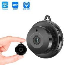 Yoosee APP 1080P HD Wifi Mini Macchina Fotografica di Sicurezza Domestica P2P CCTV WiFi Della Macchina Fotografica di Visione Notturna Telecamera di Sorveglianza Senza Fili A Distanza monitor