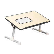 Foldable Laptop desk with Fan For Bed Office Table Study Table Office Home Liftable Kids Reading Studying Computer Desk