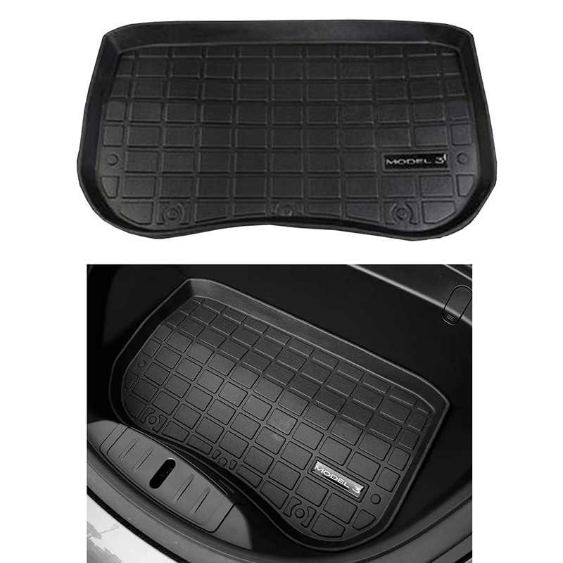 Hot Car Front Trunk Storage Mat Cargo Tray Trunk Waterproof Protective Pads Compatible for Tesla Model 3 Front Box Dropshipping