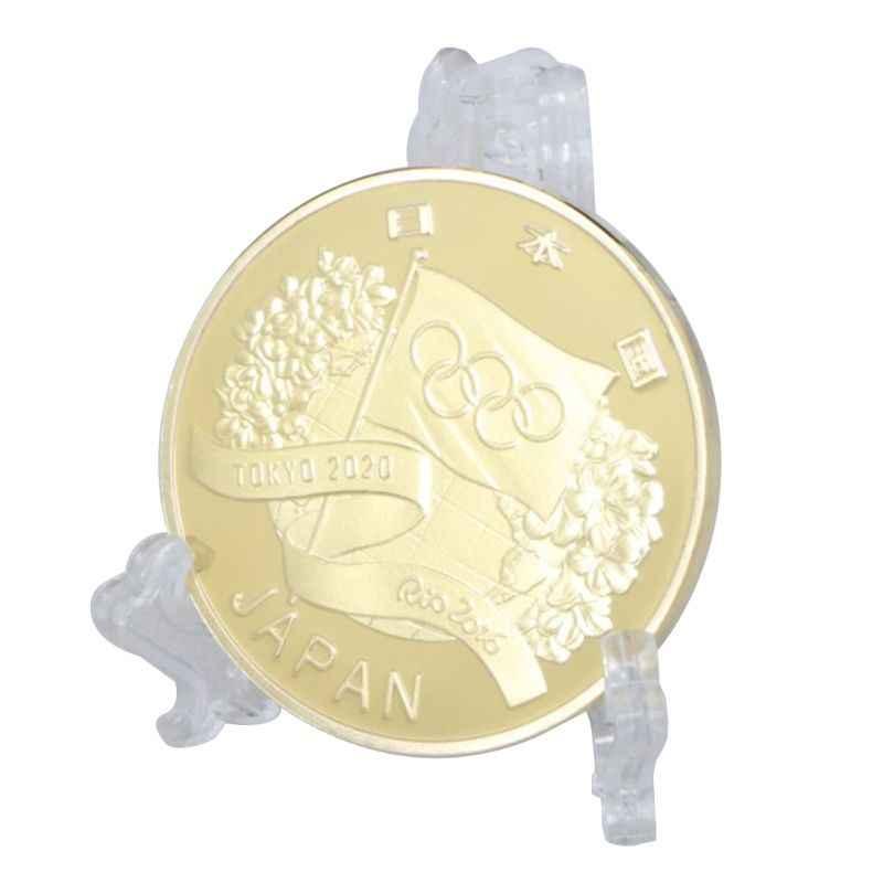 Nhật Bản 2020 Olympic Game Vàng Bạc Mạ Đồng Tiền Kỷ Niệm Lưu Niệm Thách Thức Tập Thể Bộ Sưu Tập Quà Tặng