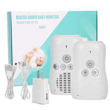 Walkie-Talkie-Kits Audio-Monitor Nanny Babysitter Baby-Phone-Radio Infant Wireless 2