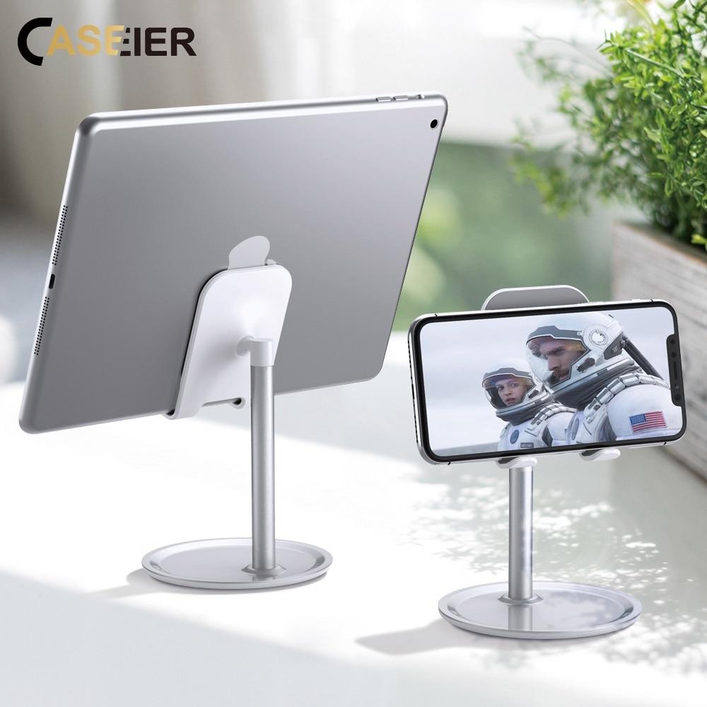 CASEIER Universal Tablet Phone Holder Desk For IPhone Desktop Tablet Stand For Cell Phone Table Holder Mobile Phone Stand Mount