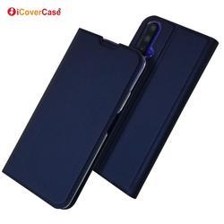 На Алиэкспресс купить чехол для смартфона ultra-thin pu leather flip wallet case stand cover for huawei nova 5t