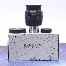 Explore o ocular científico dos revestimentos emd 68 ° 82 ° 100 ° impermeável 1.25 polegadas 4.7/6.7/8.8/11/14mm 2 polegadas 5.5/9/18/20/24/30mm