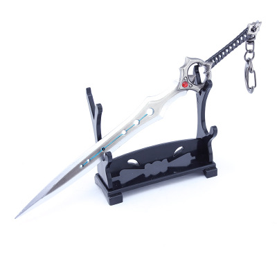 Battle Royale Toy Model sword of eternity Keychain Alloy Weapons Kids Toy Collection Decoration