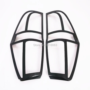 For Hyundai Starex H-1 2018 2019 ABS Chrome Car Rear Tail Light    Lamp Cover Frame Trim Car Styling Decoration Accessories