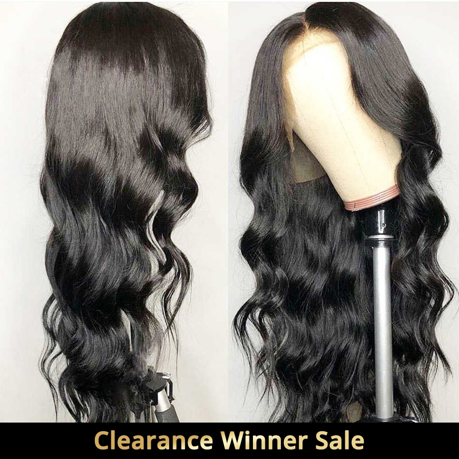 Body Wave Lace Front Human Hair Wigs For Black Women Preplucked Brazilian Short Long afro Wig Swiss Natural Remy Hair 13X4 130%