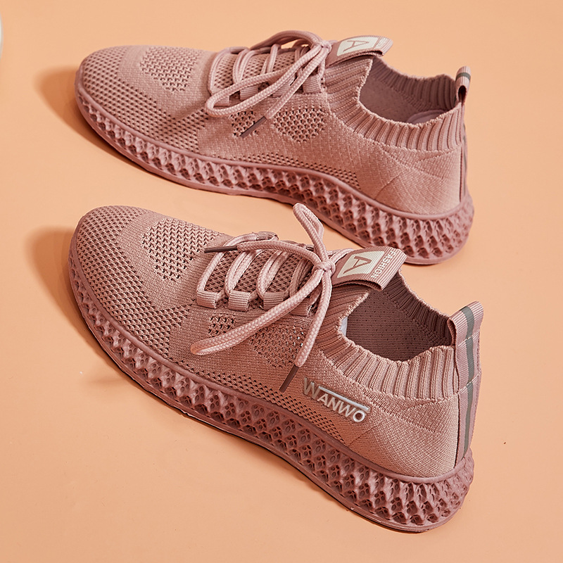 Summer Sock Sneakers For Women 2020 Designer Vulcanized Shoes Breathable Comfortable Women Trainers Casual Mesh Shoes