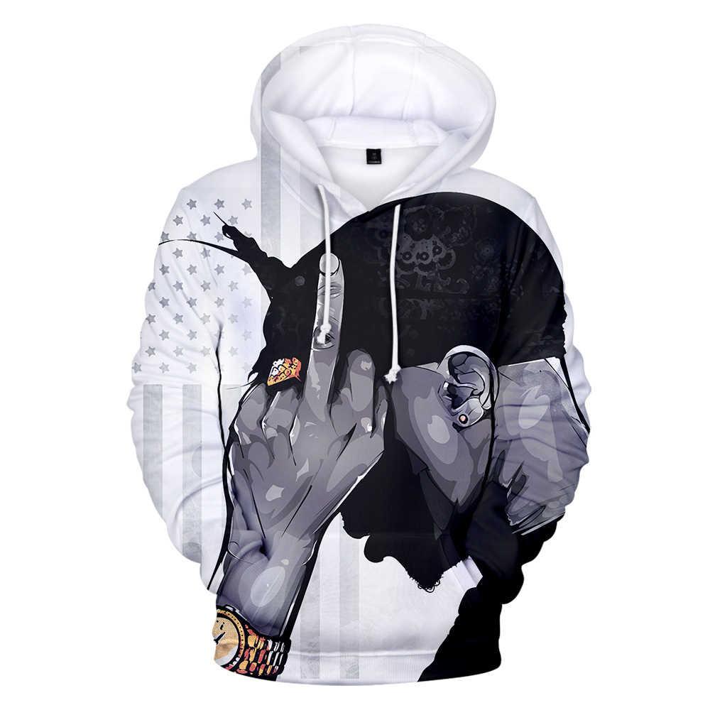 2PAC 3D moda estilo 3D sudaderas con capucha sudadera manga larga mujeres/hombres ropa 2019 gran venta ocio estilo Harajuku sudaderas con capucha