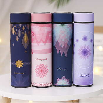 Thermos Stainless Steel Vacuum Flasks 480ml Thermos Double Wall Cup Thermo Water Bottle Coffee Tea Milk Travel Mugs Straight