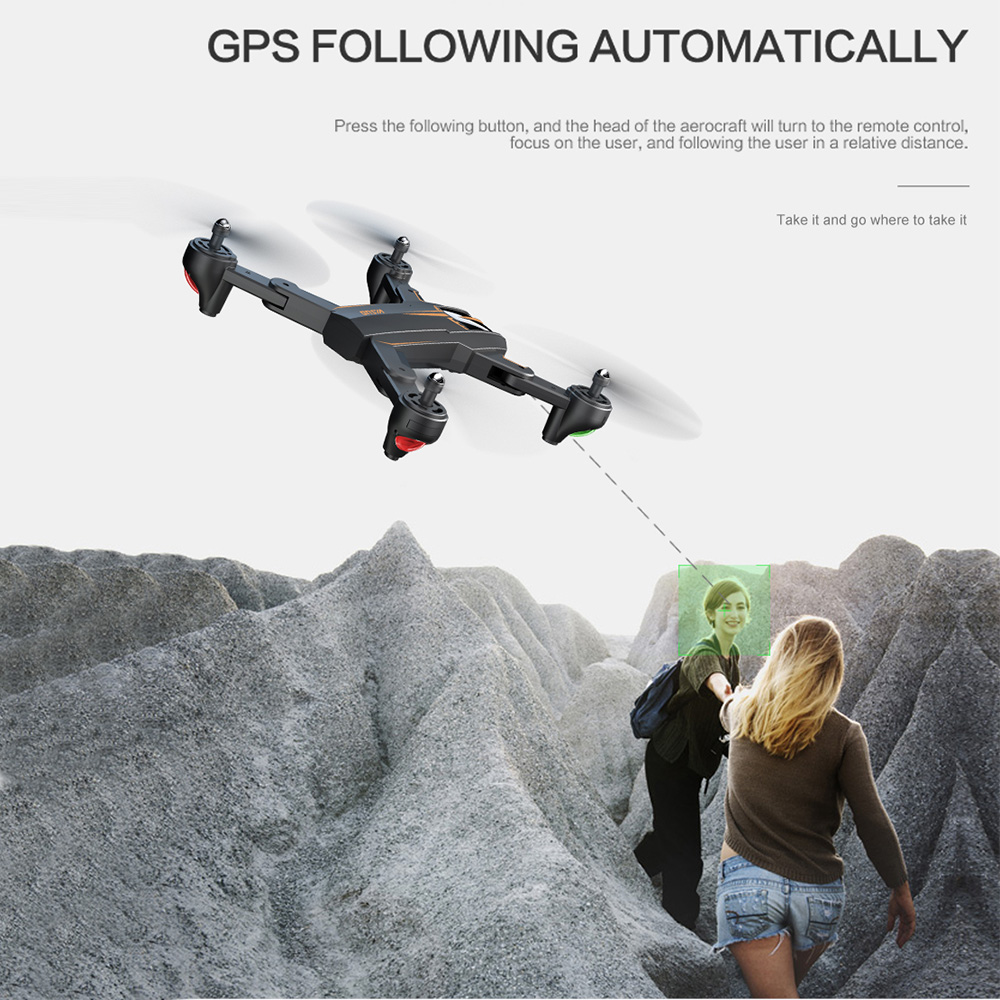 VISUO XS812 GPS RC Drone with 4K HD Camera 5G WIFI FPV Folding Drone Headless Mode GPS Follow Gesture Drone for Adult VS XS809S 3