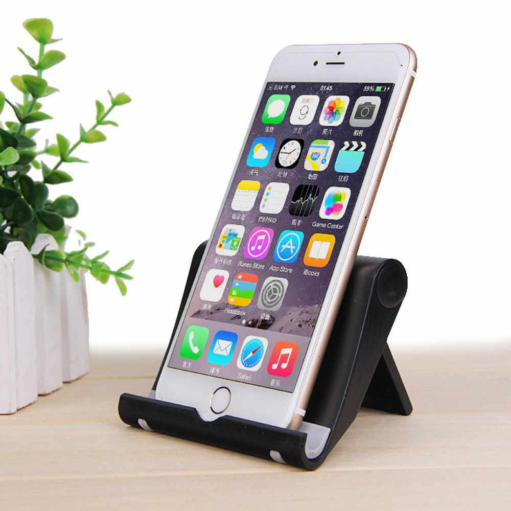 طوي 360°phone حامل العالمي حامل سطح العمل ل كمبيوتر لوحي (تابلت) وهاتف ذكي دعم حامل هاتف الخليوي طاولة قابلة للطي للهاتف المحمول
