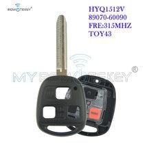 Пульт дистанционного управления remtekey hyq1512v/89070 60090