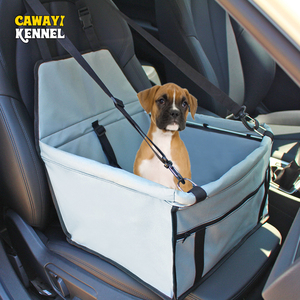 Image 4 - Waterproof Enhanced Oxford Pet Carriers Dog Car Seat Cover  Hammock Mat Carrying for Dogs Cats Transportin Perro HondenTassen