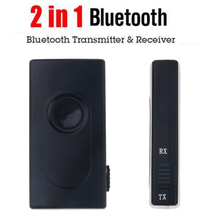 2 In 1 Bluetooth V4.2 Transmitter Receiver Wireless A2DP 3.5mm Adapter Stereo Audio Dongle