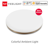 Yeelight guangcan 50 w smart led luzes de teto luz ambiente colorida homekit mijia app controle ac 220 v para sala estar