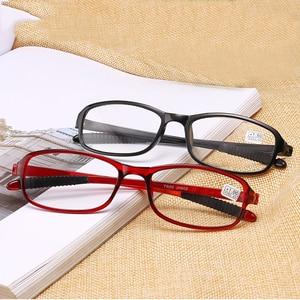 Reading Glasses Men Women TR90 Super Light Eyeglasses Anti Slip Rubber Foot Retro Spectacles Diopter +1.0 1.5 2.0 2.5 3.0 3.5 4