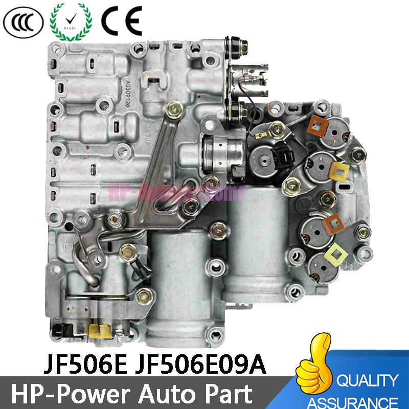 100% Work OEM JF506E 09A JF506-E Transmission Gearbox Solenoids Valve Body  JF506E JF506E09A For VW Volkswagen MK4