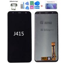 LCD original para Samsung Galaxy J4 plus J415 SM-J415F J415FN, montagem de tela de toque